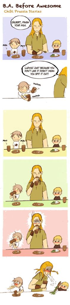 Chibi Prussia Diaries -041- by *Arkham-Insanity on deviantART