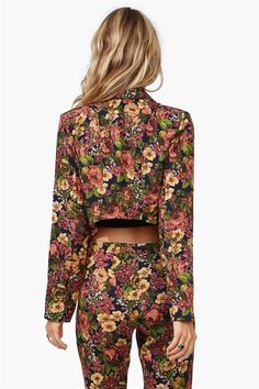 Dim Floral Blazer in Multi
