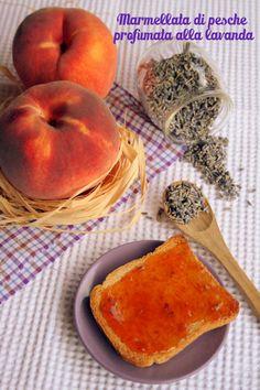 La cucina piccoLINA: Marmellata di pesche profumata alla lavanda