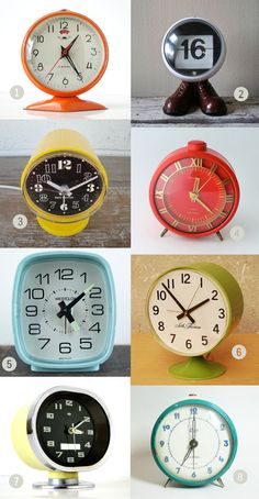 I need to find a new clock for my studio, sweet vintage clocks, mmmm decisions decisions