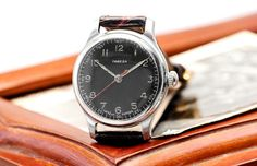 Vintage Pobeda Victory USSR Russian Soviet Mens Watch with new leather strap