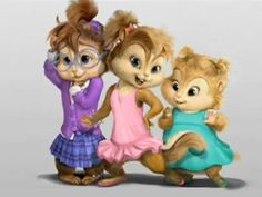 alvin and the chipmunks and the chipettes | The chipettes 2009-all 2009 version | Alvin and the chipmunks+Brittany ...