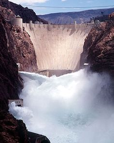 Hoover Dam Website | info & visitors planning |. I stood where the water is coming out as a part of our tour. Awesome! M