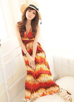 Hot Sale Red Printing Girls Long Dresses Fashion  Item Code:#QQ38069+Red   Price: US$13.20  Shipping Weight: 0.46KG