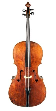 Music Museum - Andrea Amati cello, 1538