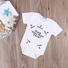 I have a feeling you'll like this one  Dad You Got This Bodysuit http://dreamlittleangel.com/products/dad-you-got-this-bodysuit?utm_campaign=crowdfire&utm_content=crowdfire&utm_medium=social&utm_source=pinterest Baby Clothes/ Baby Shower ideas/ baby girl clothing/ toddler activities/ newborn/ infant activities/ Baby fashion/ Baby statement outfit/ black and white theme Baby Shower/ newborn baby outfits/ modern baby clothes/ 0-12 Month's Baby Clothing/ 0-24 months baby outfits/ Baby Shower…