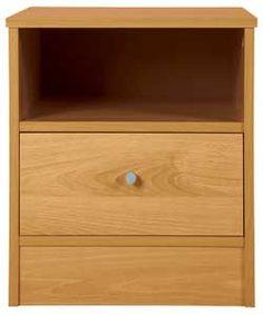 Buy Malibu 1 Drawer Bedside Chest - Pine Effect at Argos.co.uk - Your Online Shop for Bedside cabinets.