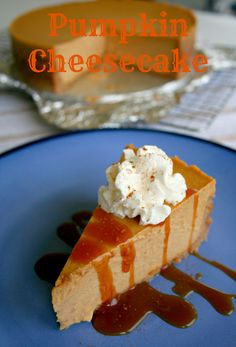 pumpkin cheesecake*