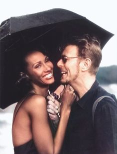 Bowiesexuality isn't a phase, it's a lifestyle. Iman Bowie, Iman And David Bowie, Mr And Mrs Jones, David Jones, Roi David, Iman Model, Supermodel Iman, David Bowie Labyrinth, Mick Ronson