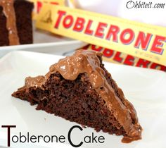 Must Make For The Hubs On Valentine S Day He Loves Toblerone Although Instead Of A Box Mix My Chocolate Cake Recipe That Is His Favorite