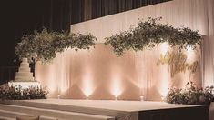 Ideas For Wedding Backdrop Stage Events Wedding Backdrop Design, Wedding Reception Design, Wedding Ceremony Backdrop, Outdoor Wedding Reception, Wedding Themes, Wedding Designs, Rustic Wedding, Wedding Venues, Decoration Buffet
