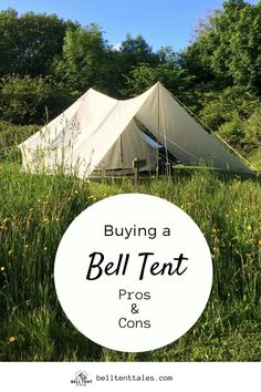[orginial_title] – Glamping Tents World Pros and Cons of Owning a Bell Tent Pros & Cons of Buying a Bell Tent for Camping Camping Hacks, Best Tents For Camping, Cool Tents, Camping And Hiking, Outdoor Camping, Camping Ideas, Camping Stuff, Camping Recipes, Bell Tent Glamping