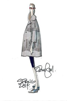 Peter Som sketch for #SS14