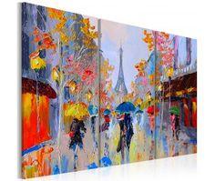 Pintura moderna Rainy Paris