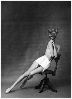 Ad for Chantelle lingerie Paris, 1958. Photo Frank Horvat