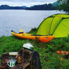 Morning coffee Kayak Camping, Camping Life, Outdoor Life, Outdoor Gear, Kayaking, Canoeing, Paddle Boarding, Water Sports, Bushcraft