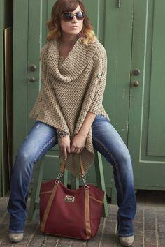 Love the sweater! #ReadyForFall