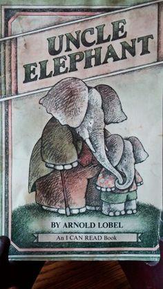 Uncle Elephant 1981 By Arnold Lobel