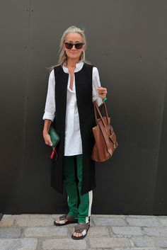 Lucinda Chambers. Personal style...Read more: http://www.aboutawomanaboutagirl.com/what-is-personal-style-and-do-you-have-it/