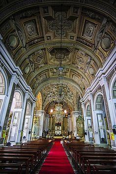 Interior of San Augustin Church, Intramuros, Manila. Manila Luzon, Intramuros, Enchanted Home, Travel Pictures, Travel Pics, Place Of Worship, Pinoy, Roman Catholic, Capital City