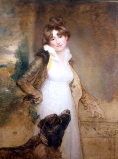 Arthur Williams Devis, Portrait of a Lady, ca. 1810