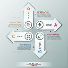 Modern Infographic Options Template  Download Infographic And