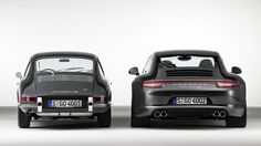 17 Photos Of Classic Cars Next To Their Modern Version. Old versus new.
