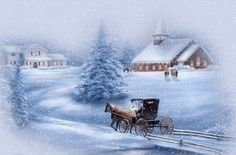 animated winter scenes | Have Yourself a Merry Little Christmas | Songbook