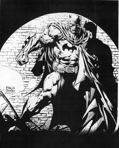 BATMAN BLACK & WHITE: DAVID FINCH