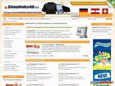 shoplinks4u.de ➜ SpyDom.net