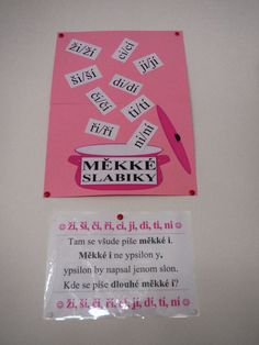 Měkké slabiky Peta, Language, Notes, Activities, Education, Reading, School, Autism, Report Cards