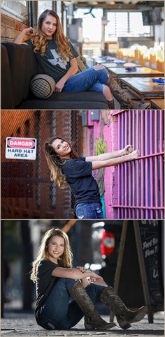 Best senior pictures for girls, creative, cowboy boots, what to wear, urban, anthropologie, Senior Photos Girls, Senior Girls, Senior Pictures, Girl Pictures, Downtown Photography, Senior Photography, Portrait Photography, Photography Ideas, Senior Picture Photographers