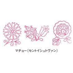 zakka collection [雑貨コレクション]|東欧生まれのかわいいお花 ハンガリー刺しゅうの図案スタンプの会(6回限定コレクション)|フェリシモ