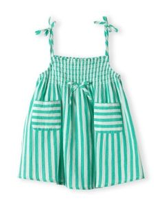 183924745de Burberry Stripe Overalls Sun Hat (Baby Girls)