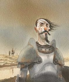Don Quixote by ©Gipi