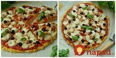 Perfektný recept, ktorý som sa naučila, keď bol môj tato na bezlepkovej diéte. je to naozaj výborný recept, chutí takmer ako skutočná a je to úplne fit recept. :-)  Potrebujeme:  2 ks cuketa    4 vajcia    80 g tvrdý nízkotučný Vegetable Pizza, Cooking Recipes, Sweets, Baking, Vegetables, Food, Decor, Hampers, Sweet Pastries