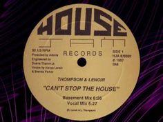 "THOMPSON & LENOIR  "" Can't Stop The House "" - 1987"
