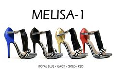 MELISA-1 by Athena Footwear <available in 4 color>  Call (909)718-8295 for wholesale inquiries - thank you!
