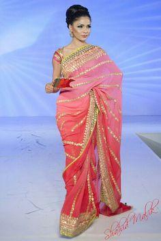 Nice gota saree...