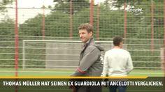 Pep Guardiola und Carlo Ancelotti sind unterschiedliche Trainertypen, findet…