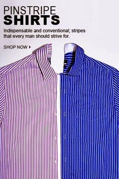 Super Saver: Pinstrip Shirts