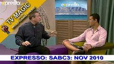 TV Magic Expresso Show Wolfgang Riebe Nov 2010 The Magicians, Tv Series, Tv Shows, Youtube