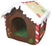 Gingerbread house pet bed, my all time favorite.