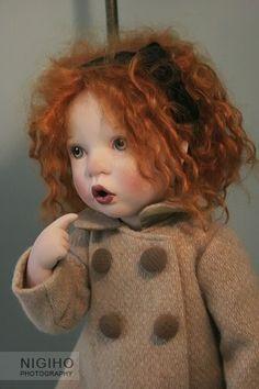 Sweet redhead art doll <3