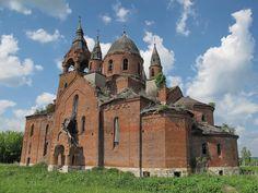 God-forsaken: Abandoned churches and cathedrals of Russia - 68 / Vvedenskaya Church, 1912-1913. The village of Pyot, Ryazan Oblast