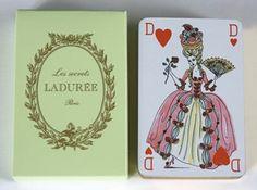 Ladurée playing cards