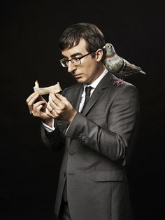 """John Oliver. From """"Oliver's Twist."""" April 28, 2014 issue. Ph Peter Yang"""