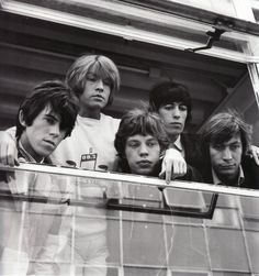 The Rolling Stones. De izq. a dcha.: Keith Richards, Brian Jones, Mick Jagger, Bill Wyman y Charlie Watts.