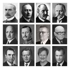 Presidents of Finland - Suomen presidentit Helsinki, History Of Finland, Finnish Words, My Land, School Fun, Independence Day, Norway, Sweden, Presidents
