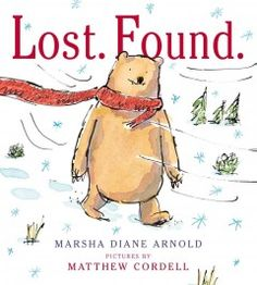 When a bear loses his bright red scarf in the woods, it is found--and lost again--by a series of animals that use it to keep warm or to have fun, but they disagree over who really owns it and cause a problem that only the scarf's true owner can fix.